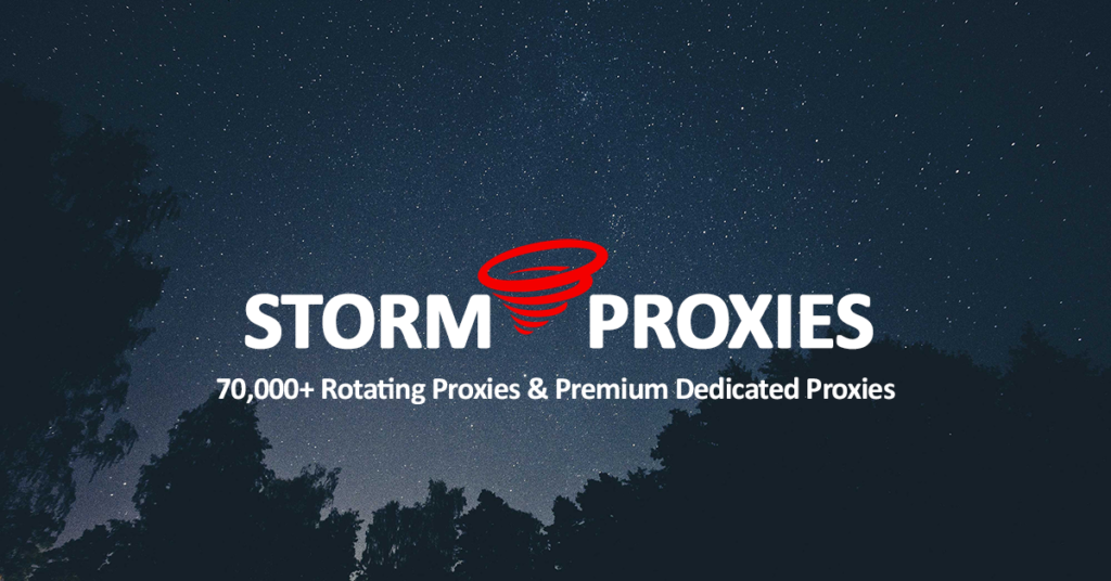 Storm Proxies Coupon