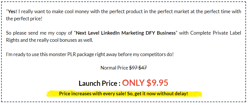 Next-Level LinkedIn Marketing DFY Bonus