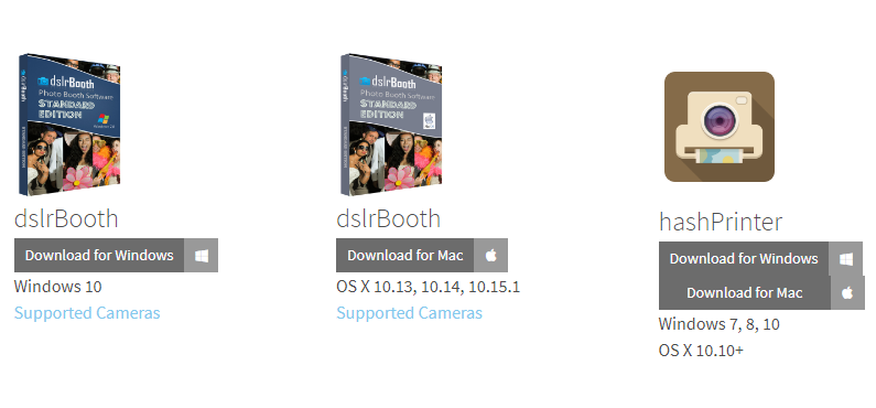 dslrBooth Free Download Templates