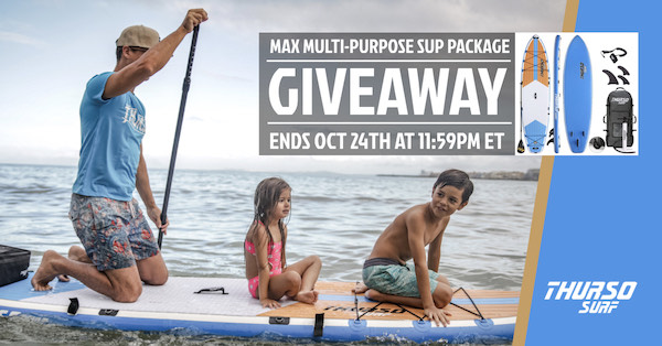 Thurso surf giveaway
