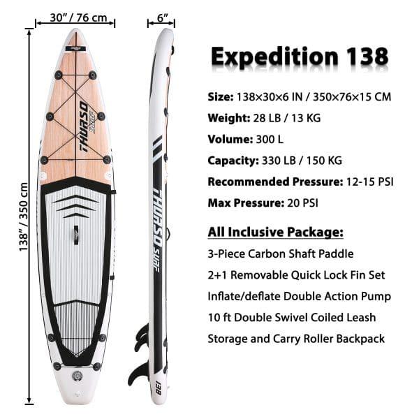 Thurso Surf Expedition SUP
