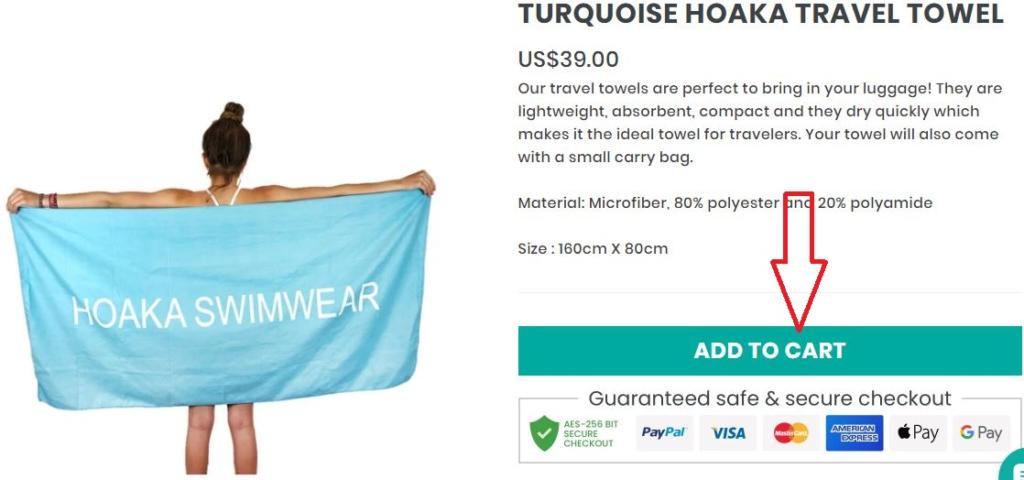 Hoaka swimwear shopping