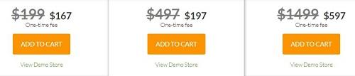 Shoptimized basic, pro, ultimate plans cost