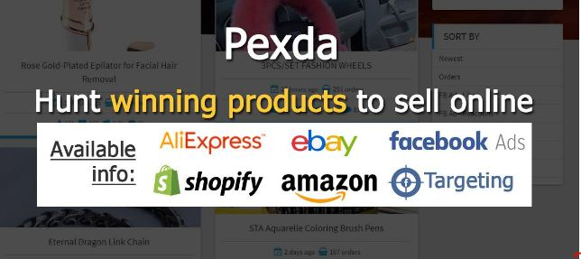 Pexda Platforms to Sell Online