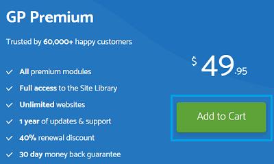 GeneratePress premium membership
