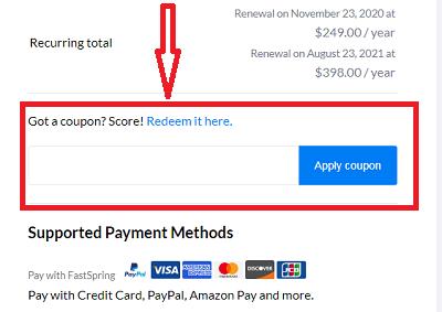 applying dokan coupon