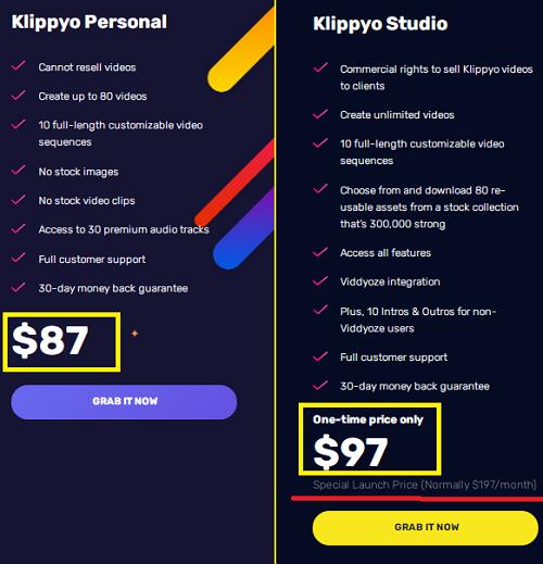 Klippyo Prices & Plans