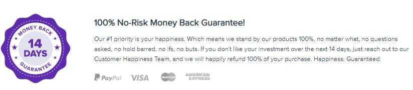 Astra money back guarantee
