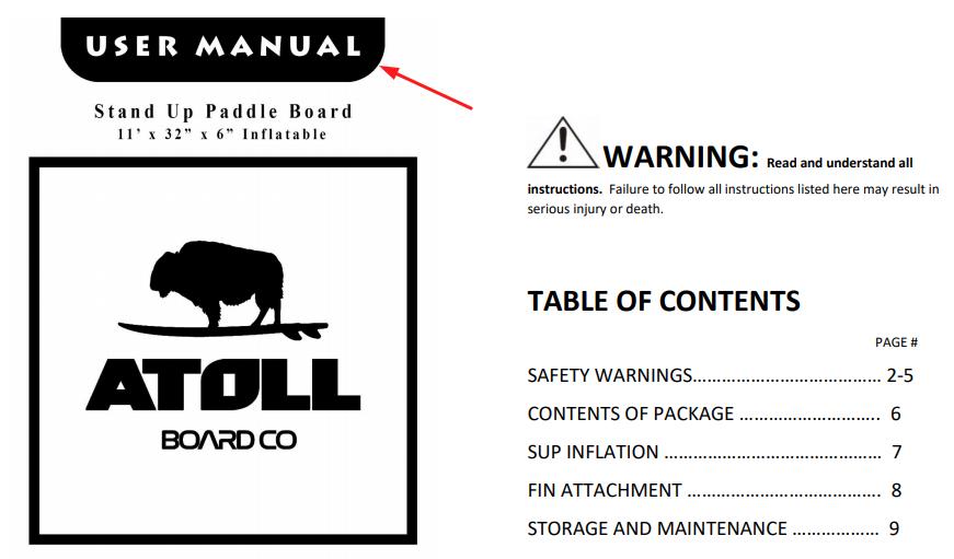 Atoll Boards User Manual