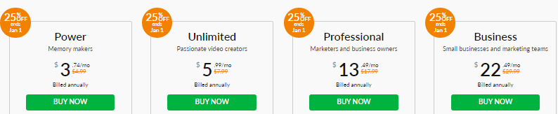 WeVideo Year-End SALE