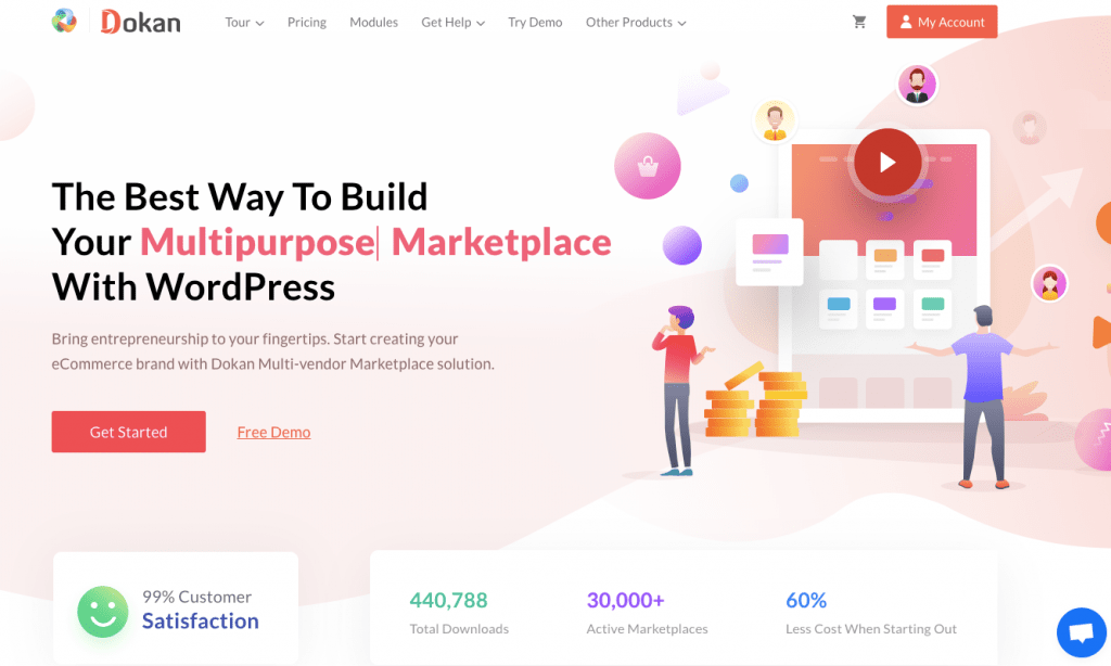 Dokan - WooCommerce multivendor marketplace